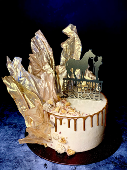 Gold Rice Paper Shards