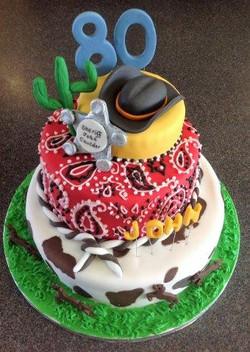 Cowboy Sheriff Cake