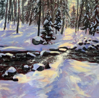 Rushing River, Winter