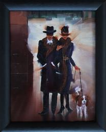 Elegant Couple By Night
