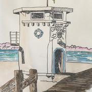 Lifeguard Station - Main Beach, Laguna