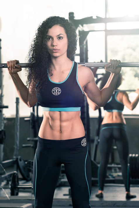 Lara Barretto for Muscle & Fitness