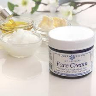 Power Repair Face Cream 1.5oz Glass