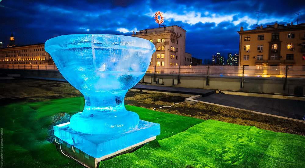 фигуры из льда