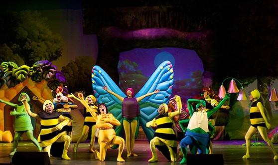Спектакль Пчелка Майя