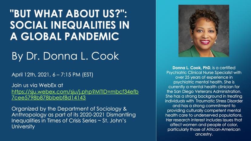 Social Inequalities in a Global Pandemic