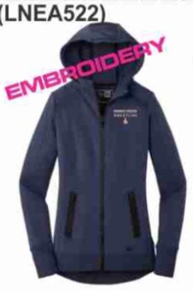 New Era Ladies Venue Fleece Full-Zip Hoodie