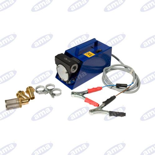 POMPA TRAV.CARB.12 V C/PINZE Cod. Prodotto - 34008