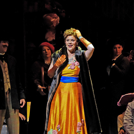 As Musetta in La bohème