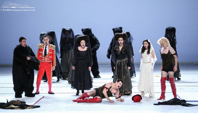 Don Giovanni, The Rake's Progress, Merola Opera