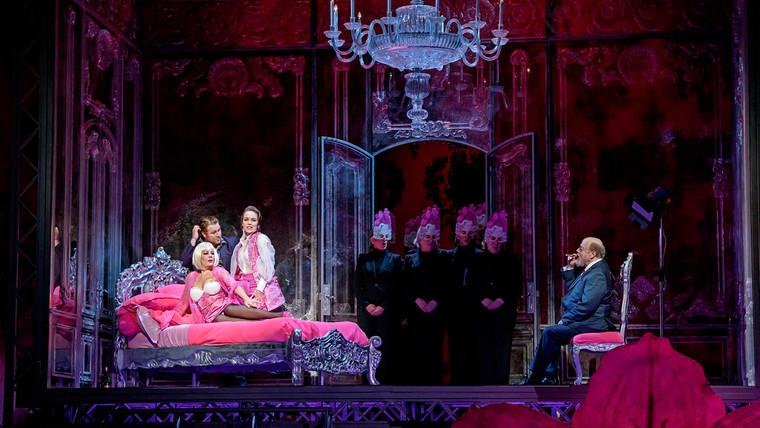 As the Madrigal Singer in Manon Lescaut