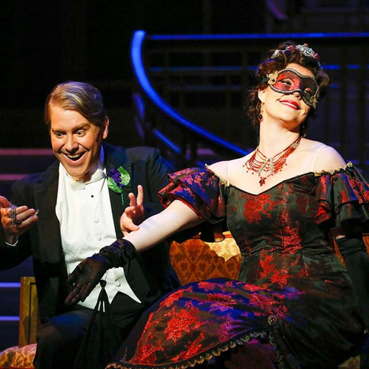 As Rosalinde in Die Fledermaus