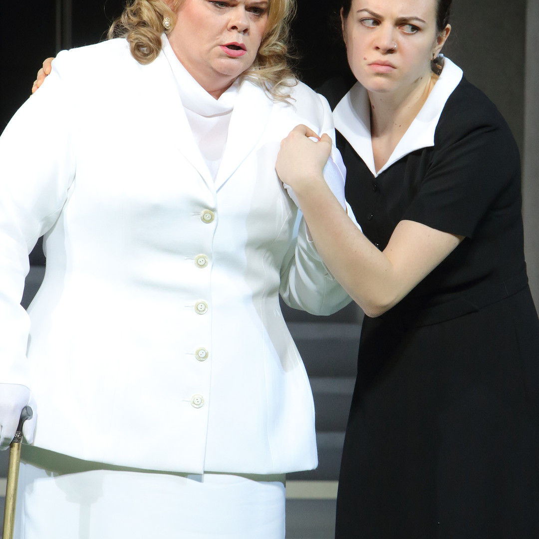 Florence Pike in Albert Herring (Bayerische Staatsoper 2016)