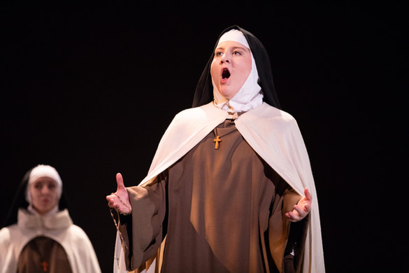 As Mother Marie in Dialogues of the Carmelites