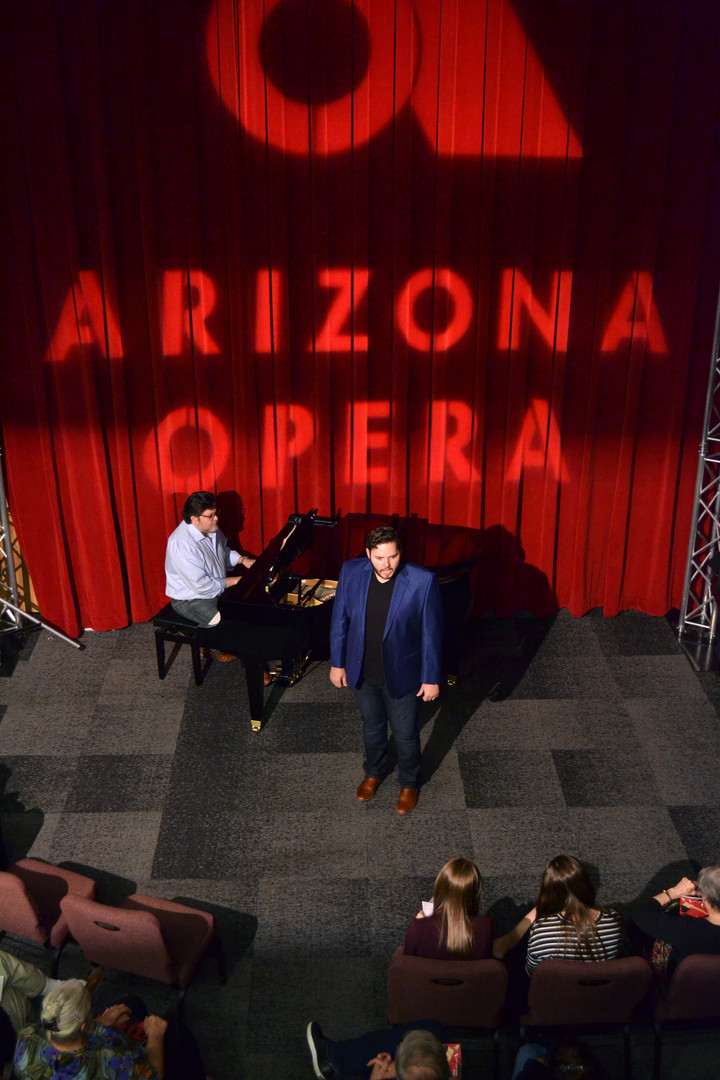 In recital with Arizona Opera