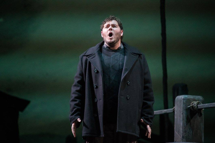 As the title role in Peter Grimes