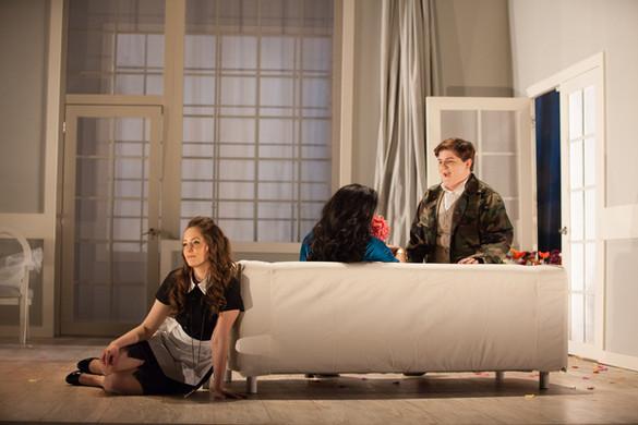 As Cherubino in Le nozze di Figaro