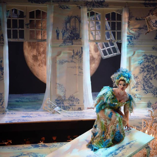As the title role in Rusalka