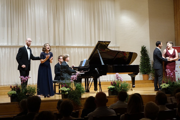 In concert with the International Meistersinger Akademie