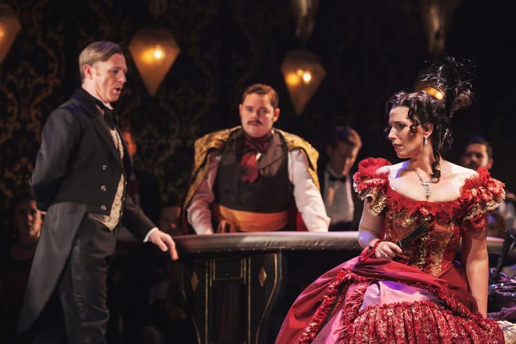 As Gastone in La Traviata