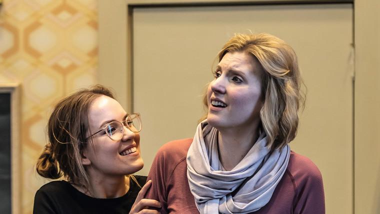 In rehearsal as Varvara (Katya Kabanova)