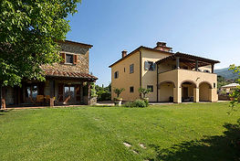 From the lawn of our villas! Synergy Yoga RVA in Italy!