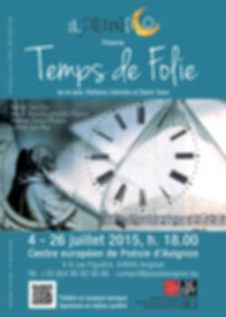 Festival Avignon Off 2015 Stefania Colombo - Samir Suez
