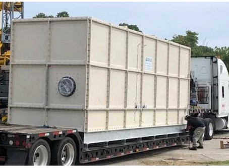 Anua Ships Another AiraShell® Odor Control System