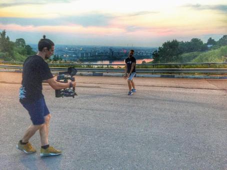 Съемка видео для Stas Cranberry