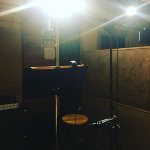 Recording for a new musical