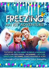 Freezing - An Icy Adventure UK Tour poster