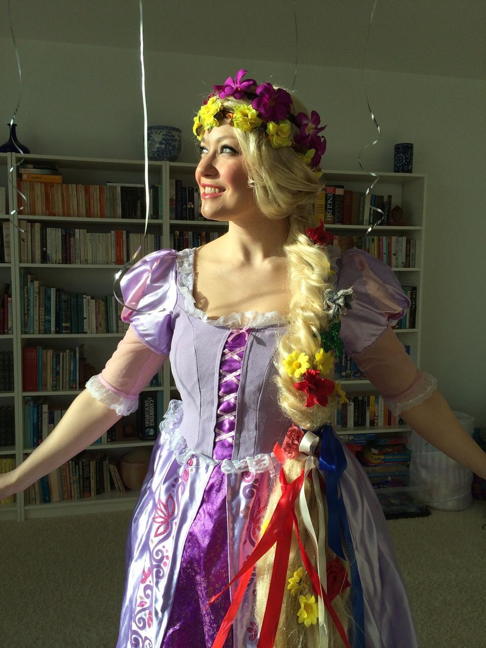 Rapunzel appearance