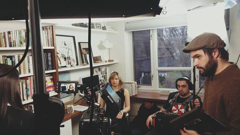 Photo on set