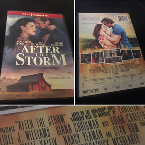 After The Storm Harlequin movie release to DVD
