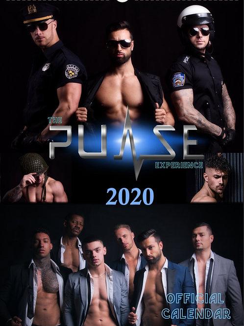 A3 Pulse Experience 2020 calendars