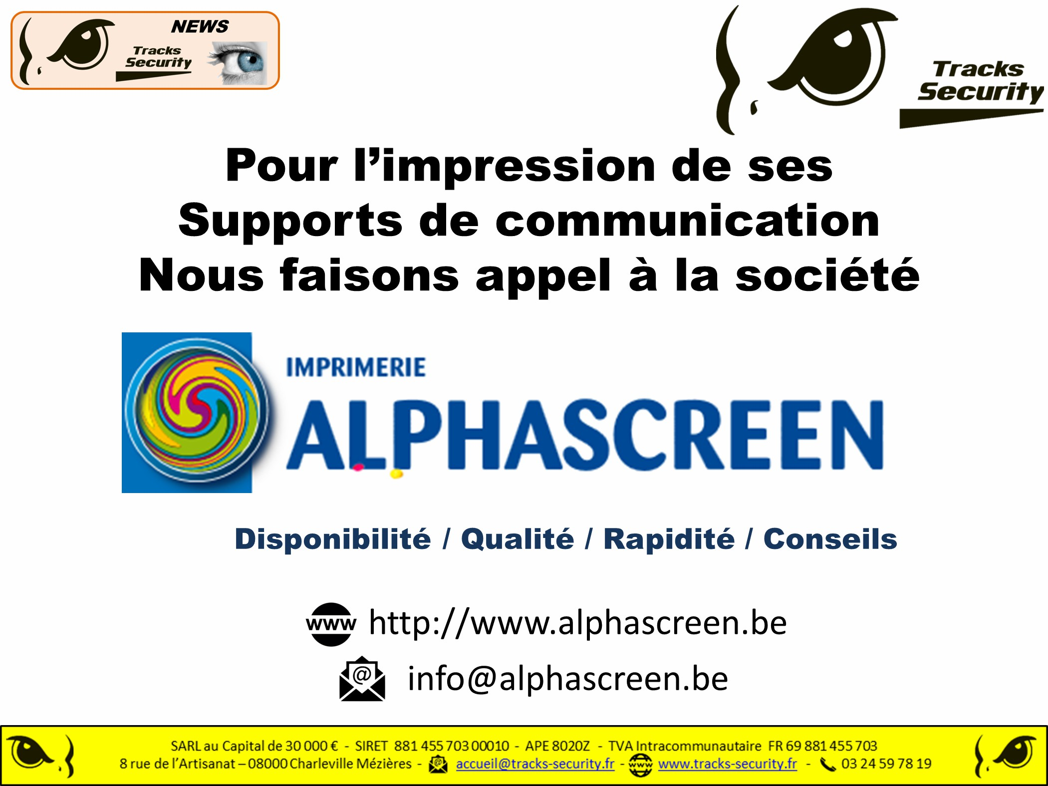 Alpha screen