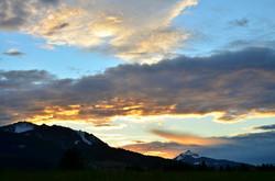 H0058 Sonnenuntergang am Grünten