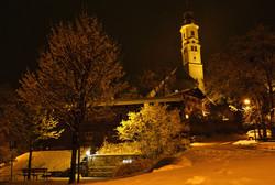 W0070 Berger Kirche Winternacht