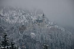 B0084 Schloss Neuschwanstein im Winternebel
