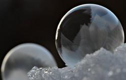M0073 Seifenblasen Eiskristalle
