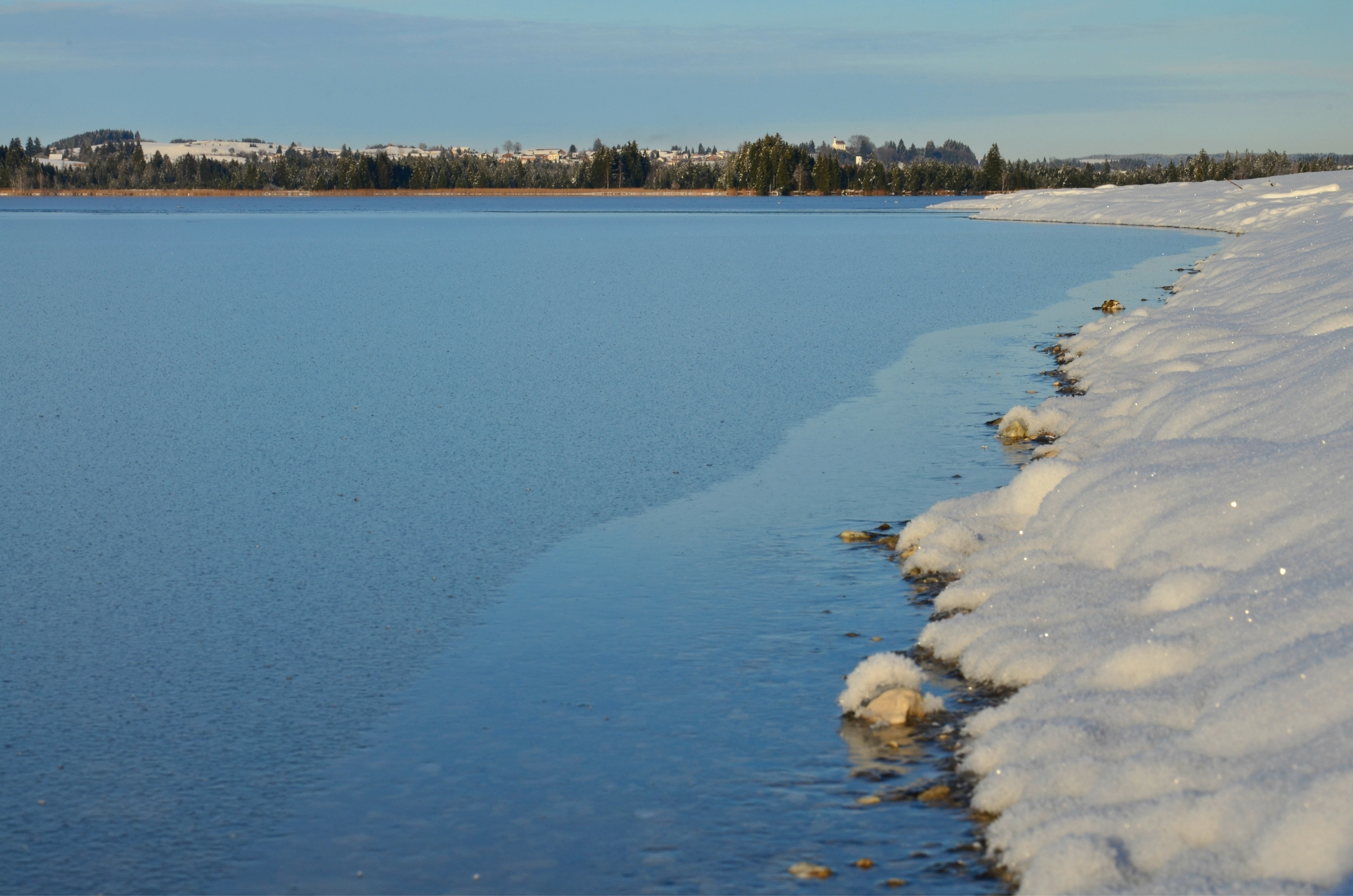 G0118 Weißer Strand Bannwaldsee