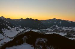 B0049 Sonnenuntergang am Edelsberg Falkenstein