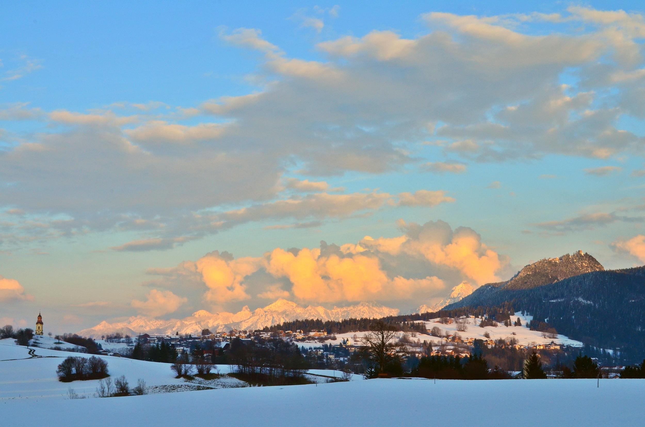 W0022 Winterabend in Pfronten