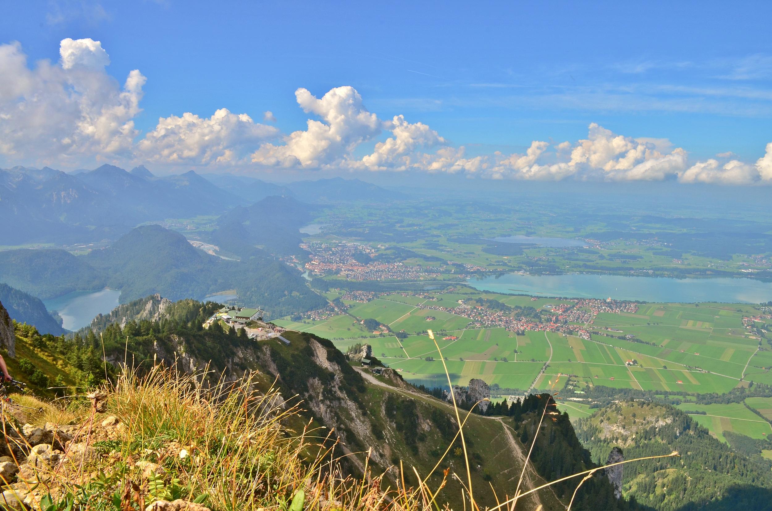 A0004 5-Seen-Blick vom Tegelberg