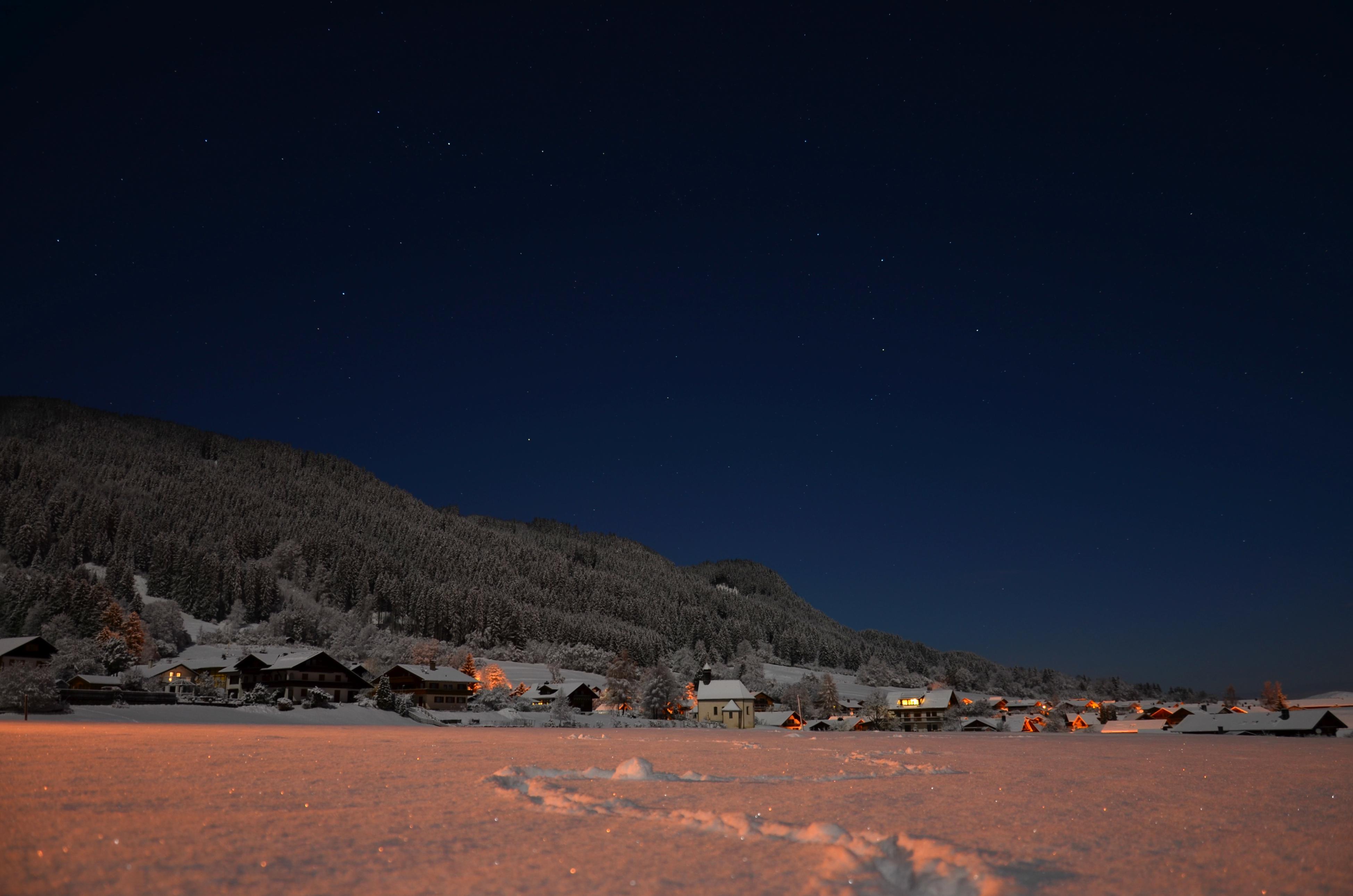 W0206 Winternacht in Pfronten-Halden