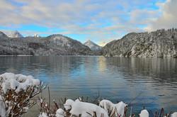 G0119 Wintermorgen am Alpsee