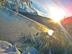 W0001 Wintermorgen am Weissensee
