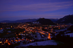 W0042 Blick aufs Pfrontner Tal Nacht