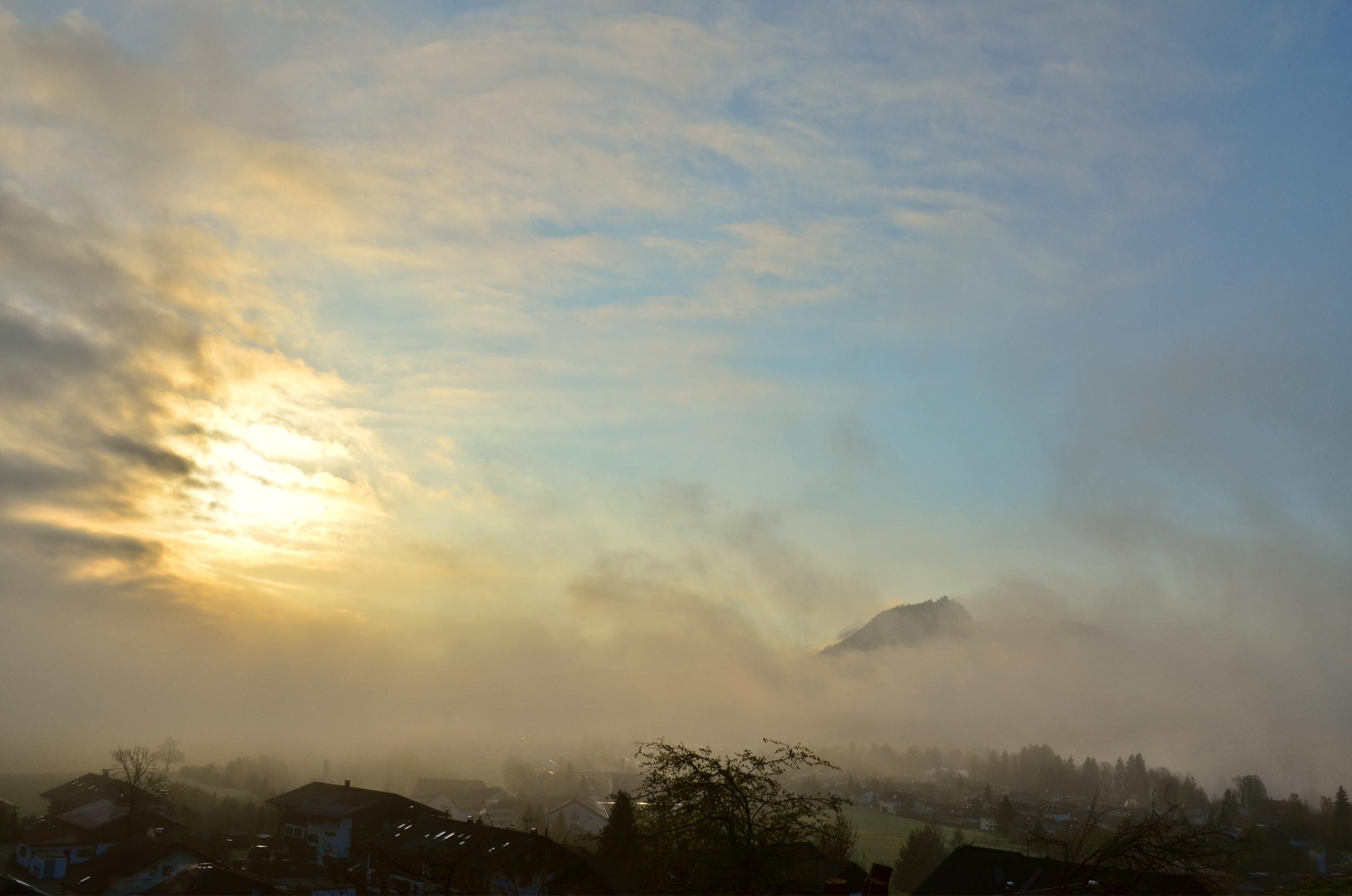 H0017 Falkenstein nebelumhüllt