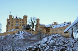 B0086 Schloss Hohenschwangau im Winter